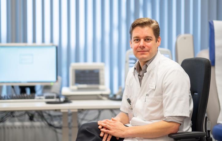 cardioloog dr Justin Luermans_MUMC