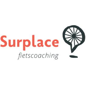 Logo Surplace fietscoaching